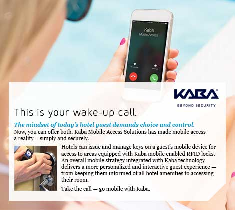 Kaba Locks Advertisement
