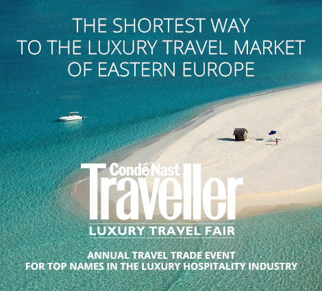 Conde Nast Traveller Luxury Travel Fair Advertisement